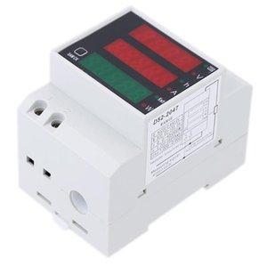 Multimeters 200-450V Multifunctional Ampere Meter Digital DIN Rail Current Voltmeter Indicator Power