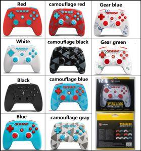 Заводская цена беспроводной игровой контроллер для N-SL / Switch Pro / PS3 джойстик с розничной упаковкой