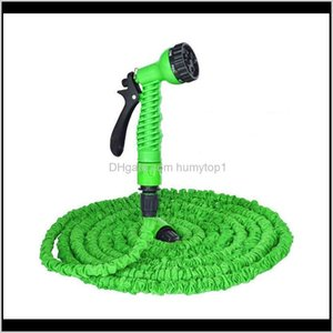 Hoses 25Ft200Ft Matic Sprinkler Car Wash High Pressure Gun Garden Water Spray Retractable Watering Expansion Tube Sc123 1A4Df 7Os2C