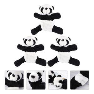 Fridge Magnets 3Pcs Panda Cartoon Refrigerator Magnet Plush Sticker