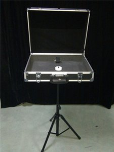 Magic Props Briefcase with Table Base Carrying Case - Tricks-Stage Products Accessary