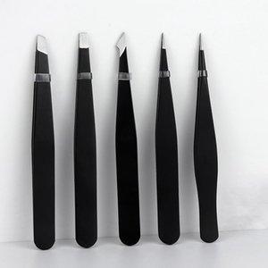 Eyebrow Tools & Stencils 1pcs Tweezers Stainless Steel Hair Pluckers Clip Trimmer Eyelash Extension Women Makeup Beauty