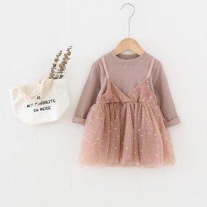 Girl's Dresses Menoea Baby Girl Lace Dress Fall Costume Children Mesh Cotton Long Sleeve Princess Winter Clothing Kids Clothes