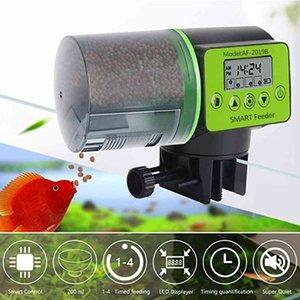 Cool Automatic Digital Tank Aquarium Electrical Plastic Timer Food Feeding Dispenser Tool Fish Feeder