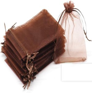 Organza Sheer Gifts Candy Bags Wedding Favor Garden Pouch Jewelry Pouches Party Xmas Gift 5x7cm,7X9CM,9x12cm,10x15cm,11x16cm