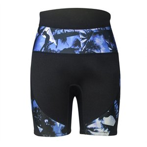 Outdoor Quick Drying Diving Shorts Printed Camouflage Swimming Warm Snorkeling Surfing Two-Piece Suits