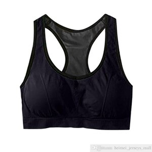 Women Seamless Sports Bra Top Fitness Women Racerback Running Crop Tops Pink Workout Padded Yoga Bra High Impact Activewear#40
