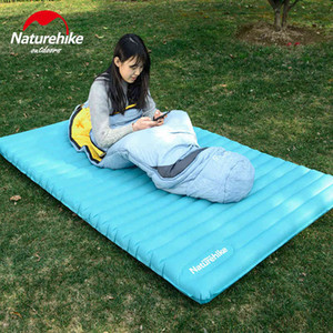 Naturehike TPU Ultralight Camping Inflatable Mattress 2 3 People Outdoor Air Cushion Thicken Sleeping Pads Dampproof Mat Hiking 210407