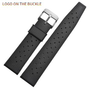 Sangle de montre en caoutchouc de silicone tropicale Remplacement de 20 mm pour la bande de montre SRP777J1 Diving Bracelet étanche Bracelet Hommes Bands