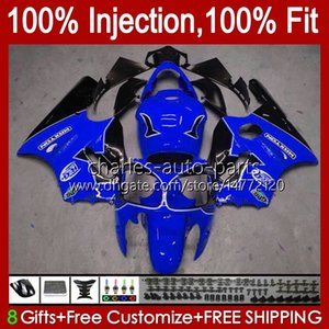 Injection mold OEM For KAWASAKI NINJA ZX 12 R 1200 CC ZX1200C ZX1200 C 2000 2001 Body 2No.139 ZX12R 00 01 ZX 1200 12R 1200CC Bodywork ZX-12R 00-01 ABS Fairing glossy blue