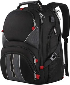 FREE SAMPLE Extra Large Durable Travel Laptop with USB Charging Port TSA Friendly College Backpack