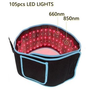 NEW Wide Red Light Belt 300 Leds For Waist Hips Shoulders Lose Weight To Relieve Muscle Soreness