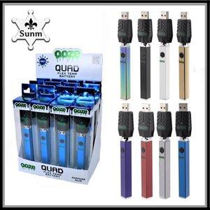 2021 co0 fiex Batteries Pre-heating 2.7V-4.2V Adjustable Vaporizer Battery 500 mah Variable Voltage Cigarettes 510 Thread VapePen batterys delta