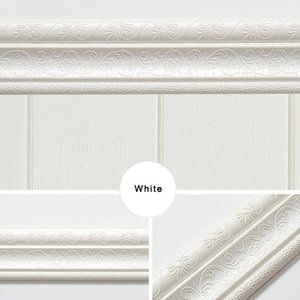 Trim Line Skirting Wall Border 3d Pattern Sticker Decoration Self Adhesive Durable Waterproof Strip Sec881
