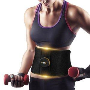 Abdominal Muscle Trainer Waist Belly Stimulator Strength Machine Body Slimming Shaper Massager Exercise Training Equipment