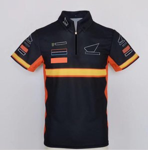 The new MOTO GP team factory uniform POLO shirt summer motorcycle riding cultural shirt off-road motorcycle quick-drying short-sleeved t-shirt