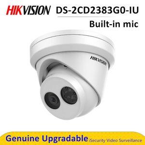 DS-2CD2383G0-IU Network CCTV PoE Security Camera Build in MIC Microphone IP كاميرات