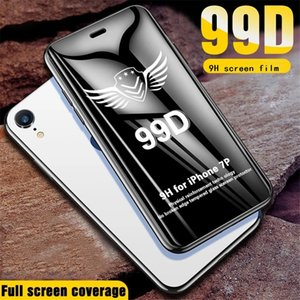 99D Full Curved Tempered Glass film 9H Screen Protector For Iphone 6 7 8 Plus x Xr 11 12 13 Mini pro Max samsung huawei xiaomi
