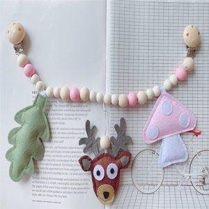 Kangobaby #my Yumuşak Yaşam # Sevimli Bebek Pram Oyuncak Lotus Ahşap Diş Kaşıyıcı Muslin Kundaklı Battaniye Ile Bebek Bilezik Y201009 108 Z2