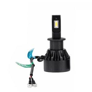 Car Headlights Auto Headlamp Fog Light Bulbs M2s H3 Led Lights For 32W 12V 6000K Motorcycle Headlight Lamp