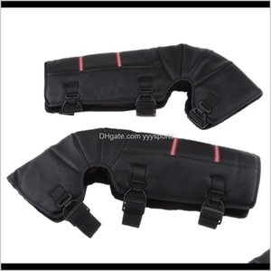 Protective Gear 2 Pcs Motorcycle Winter Warmer Knee Leg Pad Protector For Atv Quad Scooter Riding Nonslip Hook Accessories Smhec Yguaq