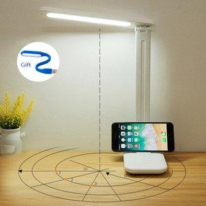 Table Lamp LED Desk Night Light 5V USB Collapsible Power Energy Saving Eye Protection Study Work Use Indoor Lighting Lamps