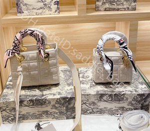 2021 women Lady Fashion Handbags Shoulder Bags Cross Body Clutch Totes Classic Retro All-match Di Fei Silk Scarf Decoration Casual Large Capacity Handbag