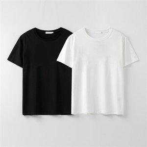 Mens T shirt designer T shirt fashion men and women couples casual T shirt black white stylist size S-XXL