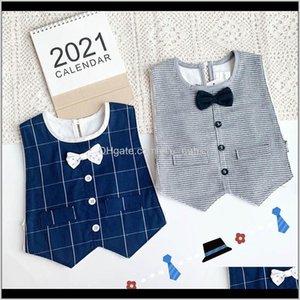 Bibs Bib Bows Bow Tie Cotton Born Burp Burping Cloths Infant Outfits Baby Accessories Boys Wear 02Y B4066 Yf8Rf Sywsq
