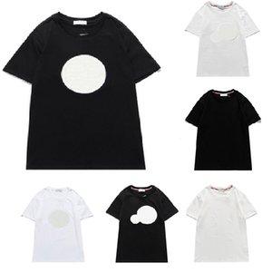 Hommes T-shirt Lettre Imprimer Nouveau manches courtes Tendance Summer Top ins