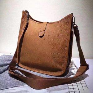 Wholesale Howhide Натуральная кожа Крест Сумки для тела Женщины Мода Сумка на плечо Мини Сумки Полихроматическая сумка для покупок сумка для мессенджера