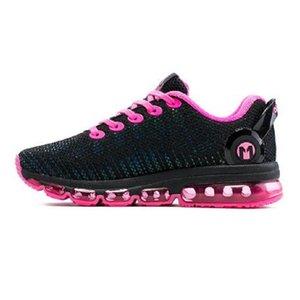 مع مربع المرأة الرياضة الاحذية أحذية رياضية تنفس شبكة في الهواء الطلق وسادة الركض الرياضي Onemix الرجال