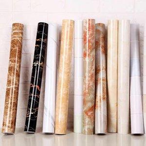 Wallpapers 1M 2M Modern Living Room Furniture Desktop Waterproof Marble Wallpaper Self Adhesive Contact Paper Home Decor