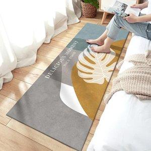 Carpets Washable Non-slip Long Kitchen Floor Mat Bathroom Entrance Door Bedroom Living Room Bedside Area Rugs Tapis Tapete