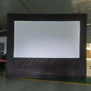150 inches outdoor inflatable movie screen for sale, home theatre cinema screen backyard portable projective screen