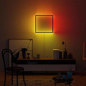 Wall Lamps Modern Creative Lamp Type LED Bedside Simple Bedroom Living Room Corridor Staircase Aisle RGB Atmosphere