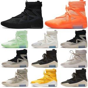 Fear of God 1 Women Mens Basketball Shoes Luxurys Designers Sail Triple Black String The Question Oatmeal Light Bone Sports Trainers Sneakers