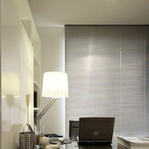 Blinds 25mm Slats Aluminum Venetain With Chain Control System For Housing
