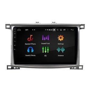 "Carplay Android Auto DSP 9 ""PX6 Android 10 Coche Reproductor de DVD STEREO Radio GPS Navegación Bluetooth 5.0 WiFi para Toyota Land Cruiser LC 100 2002-2007"