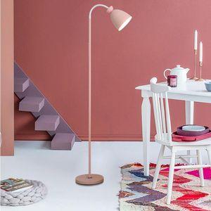 Floor Lamps Modern Simple LED Lamp Children Decor Standing Light Cute Cartoon Pink Living Room Nursery Bedroom Dining Lightings