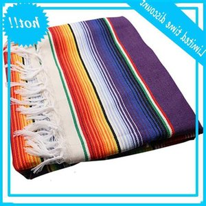 Tablecloth for Mexican Party Wedding Decorations, Saltillo Serape Bed Blanket Outdoor Cover Table