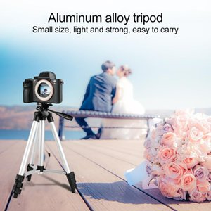 Camera Tripod Holder Travel Portable Clip Aluminum Alloy Mount Stand For Canon Digital Handheld DV Tripods