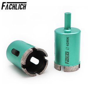 2pieces Welded Diamond Hole Saw Drilling Core Bits Shank Connection #35 45