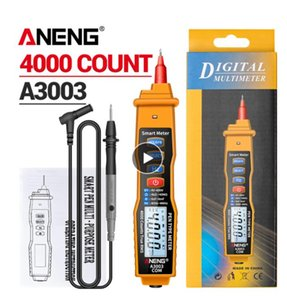 ANENG A3003 Digital Multimeter Pen Type Meter 4000 Counts with Non Contact AC DC Voltage Resistance Capacitance Hz Tester Tool