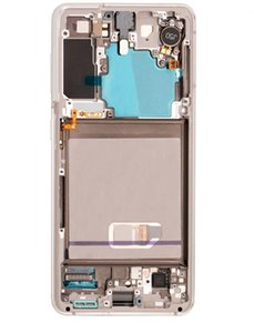 For Samsung Galaxy S21 AMOLED Display LCD Screen Panels with Frame