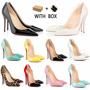 2021 Red Bottom Women Dress shoes Heels high Dust Bag Round Pointed Toes Bottoms Spikes Vintage Studded Luxurys Designers Sneakers z0vw#