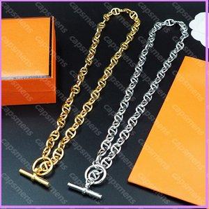 Designer Chains Necklaces Women Mens Chain Necklace Luxurys Designers Jewelry H De Créateurs De Luxe Femmes Bracelets Love Bracelet 2108032L