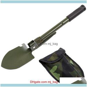 Tools Home & Gardenfolding Survival Spade Trowel Shovel Portable Garden Camping Outdoor Hand Tool1 Drop Delivery 2021 Paedj