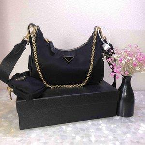 2021 Re Mode Frau Luxurys Designer Taschen Lady Womens Edition Crossbody Tote 2005 Nylon Hobo Schulter Geldbörsen Handtaschen Tasche Brieftasche Backpak mit Box