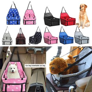 Portable Pet Dog Car Safe Seat Hanging Mesh Bag Folding Waterproof Cat Puppy Seat Safe Holder Pad Mat Travel Accessories